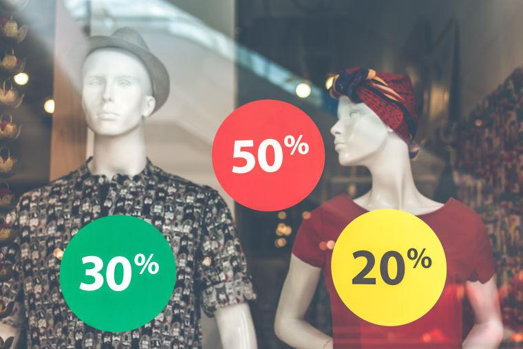 Sconto del 10 % contro sconto di 10 €: quale il più efficace?