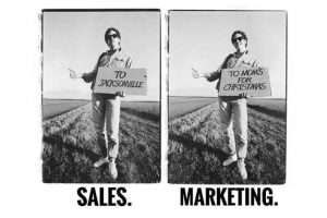 Sales contro Marketing